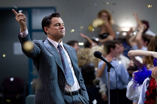 Leonardo DiCaprio Gives a Speech in The Wolf of Wall Street - 1024
