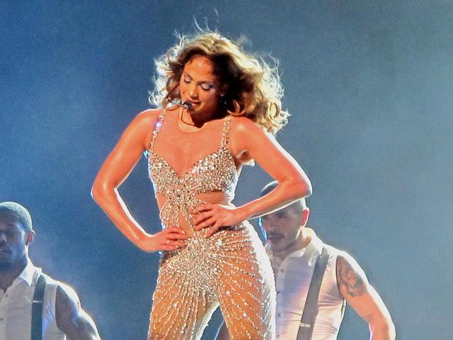 Jennifer Lopez (JLo) concert, Perth Arena, Western Australia, 6 December 2012