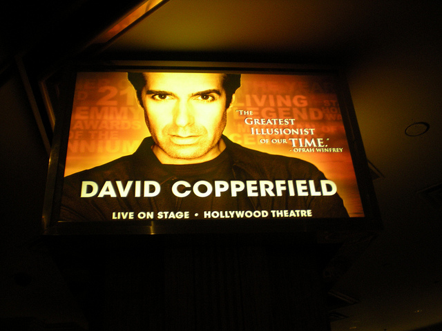 a biography and magic of david copperfield an american illusionist Advertisement photo by robcowboy biography of david copperfield david copperfield is revered as one of the greatest illusionists in modern time he is a member of the exclusive club of world-famous magicians the society of american magicians, an emmy award winner, and owner of the international museum and library of the conjuring arts, which.