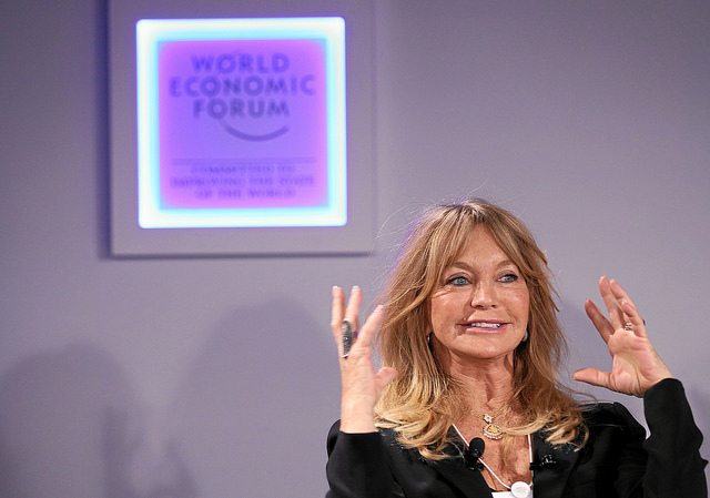 An Insight, An Idea with: Goldie Hawn