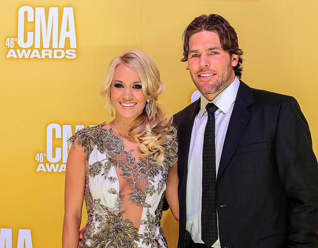 CMA Awards 2012 - Carrie Underwood and Mike Fisher