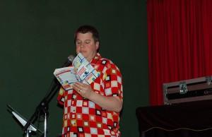 Daniel Handler reading from Adverbs