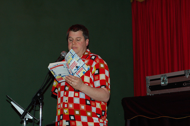 Daniel Handler reading from Adverbs