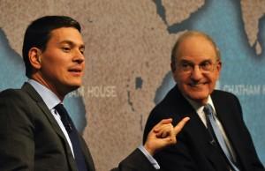 David Miliband MP and Senator George Mitchell