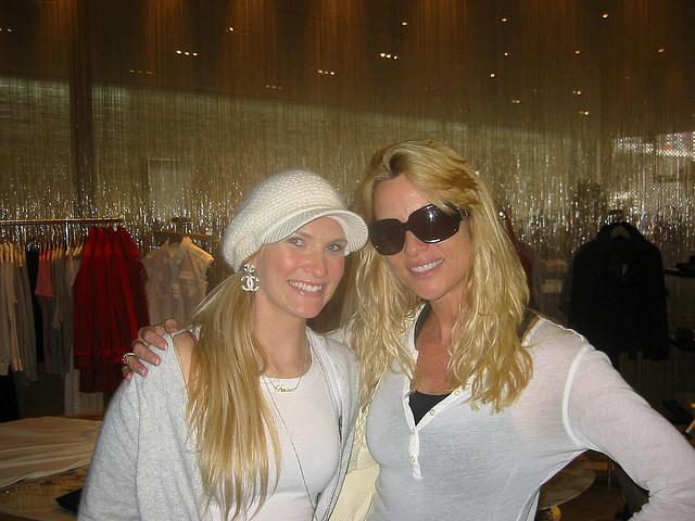 Fleur & Nicolette Sheridan