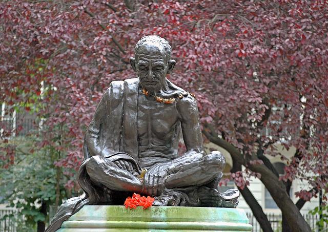 Gandhi at Tavistock Square