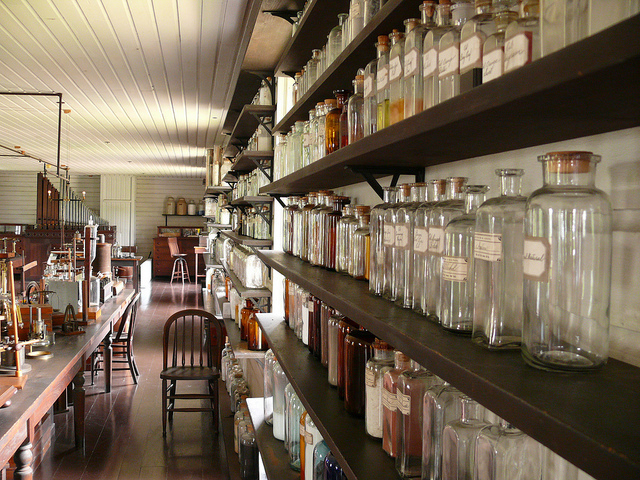 Greenfield Village Museum - Thomas Edison Lab - Invention of the Light Bulb.