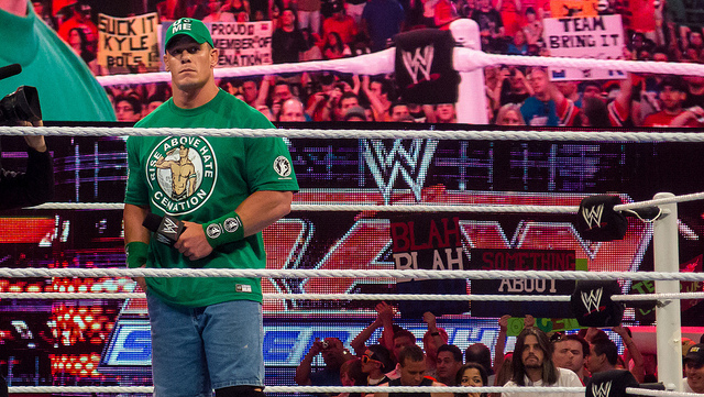 John Cena at Raw, Miami, 2 April 2012