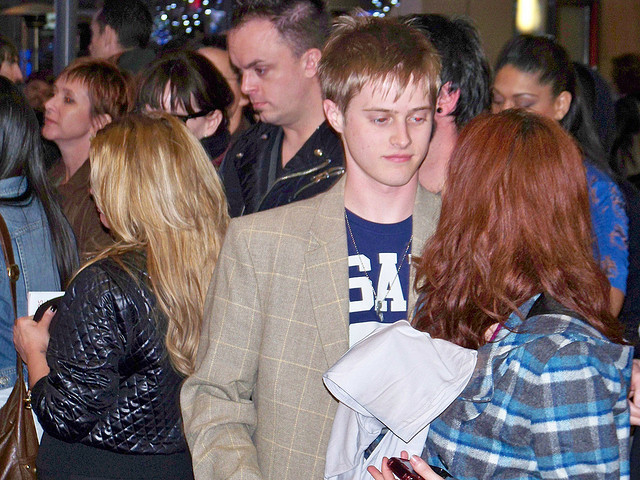 Lucas Grabeel at the Pee Wee Herman Show