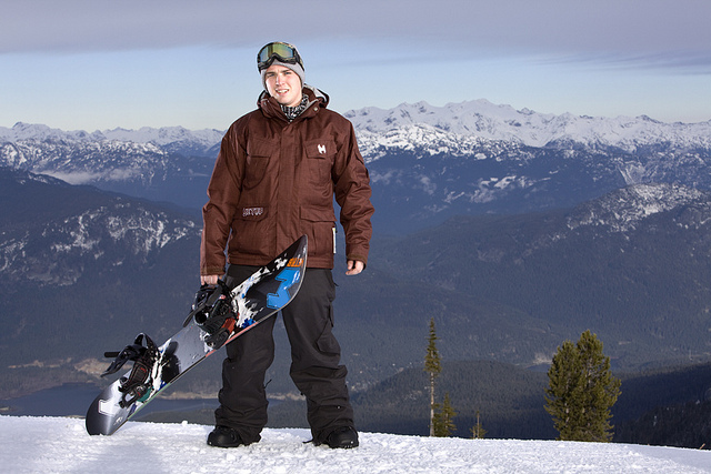 Mike Fisher – Canadian National Adaptive Snowboard Team