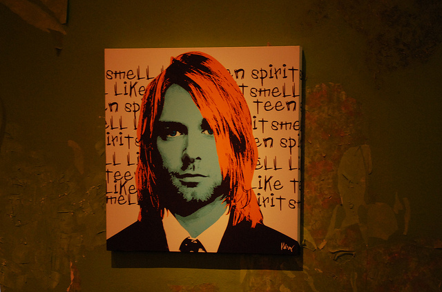 Portrait of Kurt.