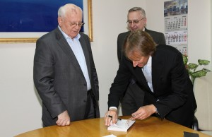 Rod Beckstrom, Mikhail Gorbachev
