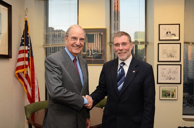 Social Development Minister Meets Sen George Mitchell