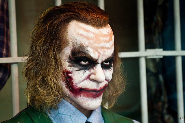 The joker - Heath Andrew Ledger