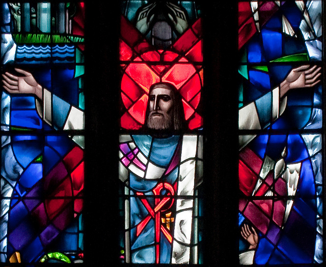 Tuam Cathedral of the Assumption: St Patrick's Window