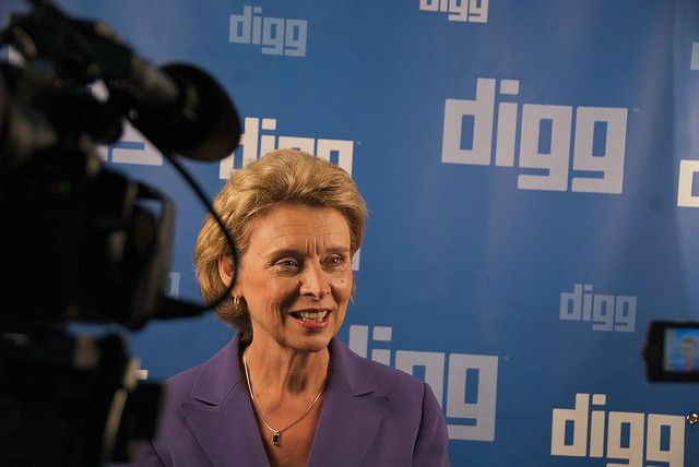 WA  Gov. Christine Gregoire  in the Big Tent