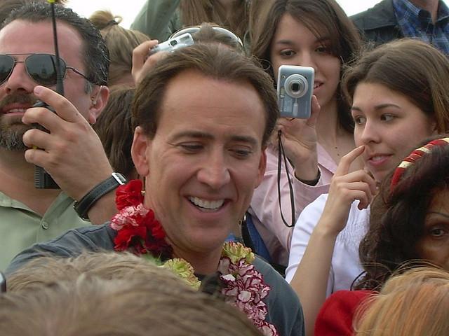 Nicolas Cage-close up