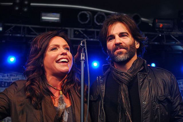 Rachel Ray & husband John Cusimano @ Stubbs
