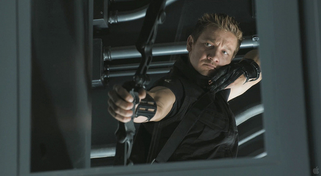 Jeremy Renner Hawkeye The Avengers Movie Image