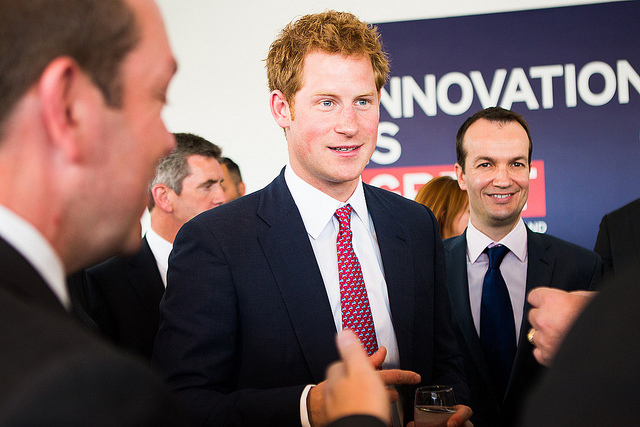 Prince Harry helps promote Britain at New York event