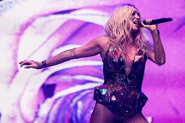 Kesha op Rock Werchter 2013