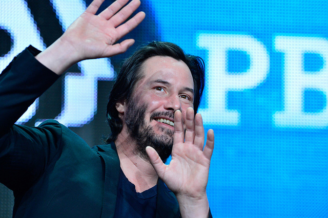 SIDE BY SIDE- Keanu Reeves