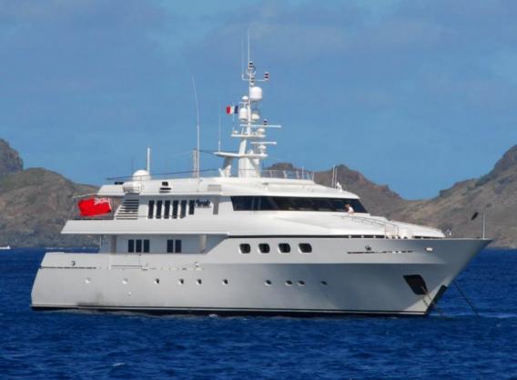 yacht-cyan