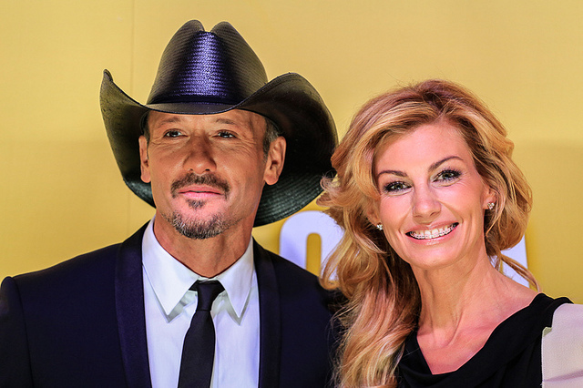 CMA Awards 2012 - Tim McGraw and Faith Hill