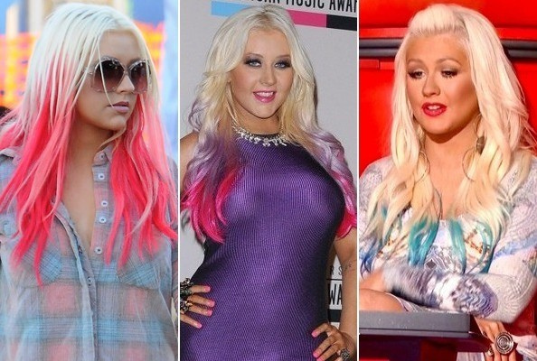 Christina Aguilera New Hairstyle