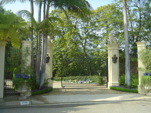 Jim Carrey's Estate in Los Angeles