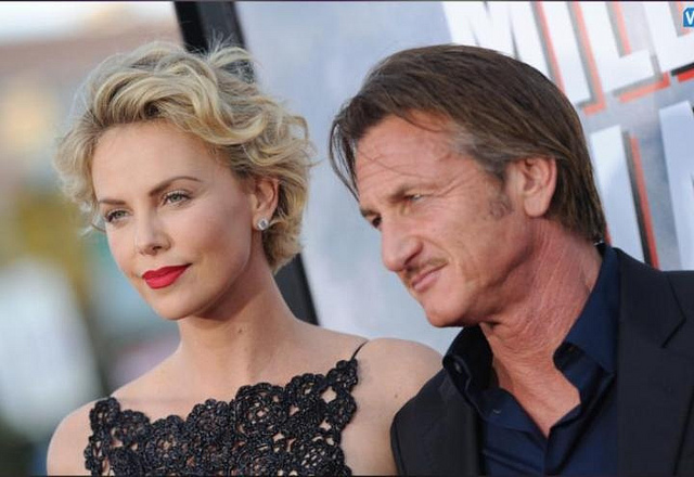 Charlize Theron Sings With Seth MacFarlane During Date Night With Sean Penn