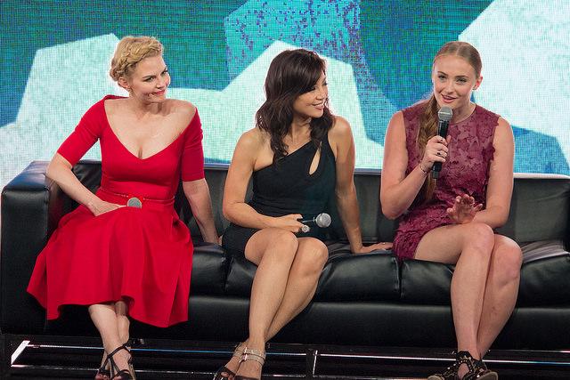 Jennifer Morrison, Ming-Na Wen and Sophie Turner