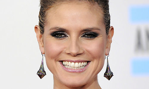 Celebrity Heidi Klum Botox