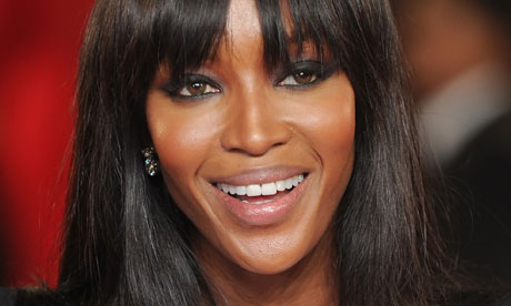 Naomi Campbell' new face of lingerie line