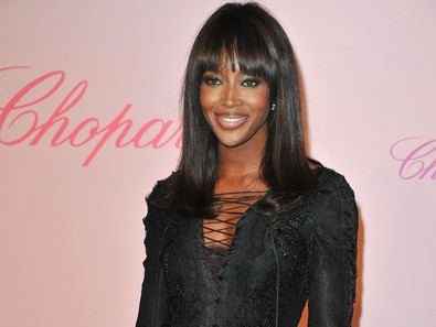 Naomi Campbell Walks Red Carpet at at Cannes Film Festival