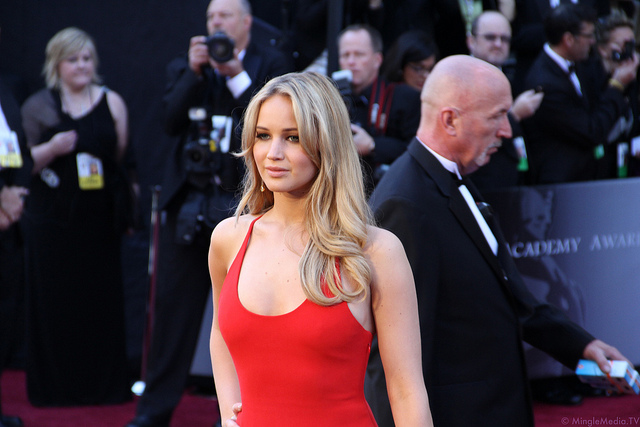 Jennifer Lawrence at the 83rd Academy Awards Red Carpet IMG_1081