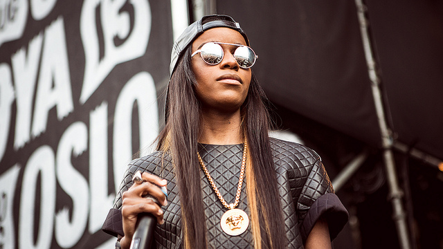 Angel Haze - Øyafestivalen 2013